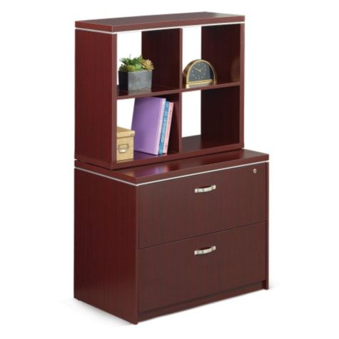 Shown with optional cubby hutch