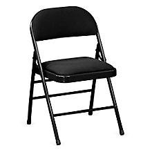 Fabric Steel Frame Folding Chair, 8803238