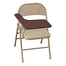 Steel Folding Chair with Tablet Arm, 8803241