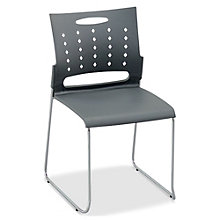 Plastic Stack Chair with Chrome Frame, 8804880
