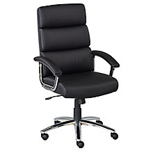 Faux Leather Conference Chair, 8804287