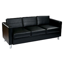 Pacific Modern Reception Sofa in Vinyl, OFF-10930