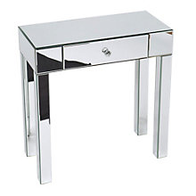 Reflections Mirror Plated Foyer Table, OFF-10938