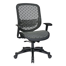 Space Office Chair in Dotted Mesh, OFF-11146