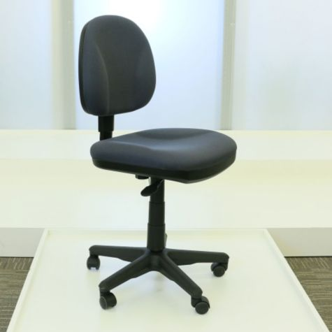 Seat adjusted to highest height