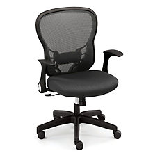 Linear Task Chair with Memory Foam, OFF-529T11N1F5