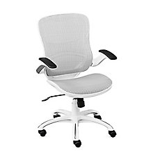 Vertical Mesh Task Chair With Flip Arms, 8808037