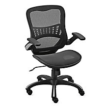 Vertical Mesh Task Chair With Flip Arms, 8808038