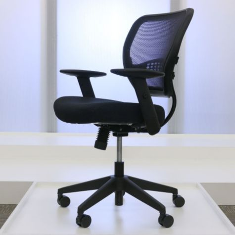 Seat raised