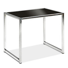 Black Glass End Table, AVN-401014