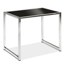 Black Glass End Table, AVN-401014