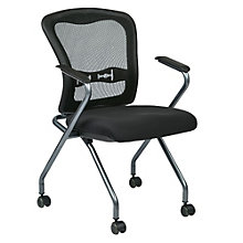 Deluxe Mesh Back Nesting Chair, 8802809