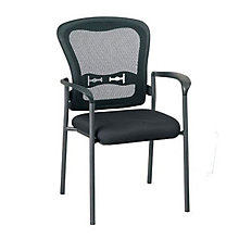 Set of 12 Mesh Back Guest Chairs, 8804217