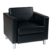 Pacific Club Chair in Vinyl, 8801743