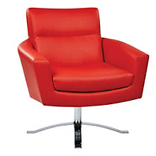 Nova Modern Club Chair in Faux Leather, 8801765
