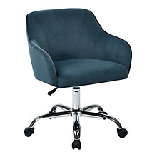 Bristol Retro Task Chair in Velvet, 8801768
