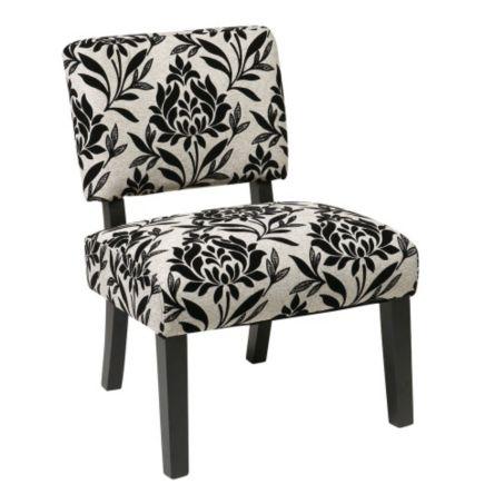 Wondrous Jasmine Armless Accent Chair In Fabric 8801770 Theyellowbook Wood Chair Design Ideas Theyellowbookinfo