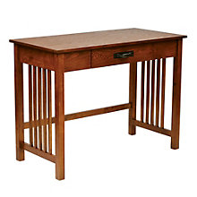 """Sierra Compact Mission Style Writing Desk - 40"""", 8801788"""