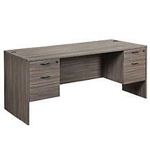 "Lodi Half Pedestal Executive Desk - 71""W, 8801794"