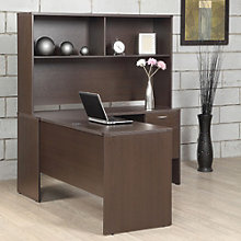 "Lodi L-Shaped Desk with Hutch - 60""W, 8801795"