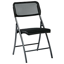 WorkSmart Folding Chair in Mesh, 8802339