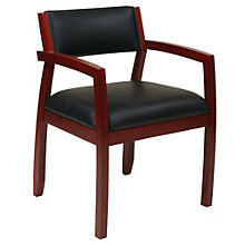 NAPA Wood Frame Guest Chair in Fabric or Eco Leather, 8802342