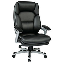 WorkSmart Faux Leather Executive Chair, 8802521