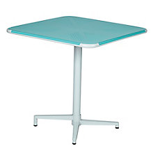 "Albany Metal Square Flip-Top Table - 30""W, 8803139"