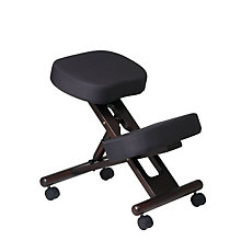 Wood and Fabric Ergonomic Kneeling Chair, OFF-KCW778