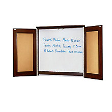 Enclosed Melamine Presentation Board, OFF-MEN-100