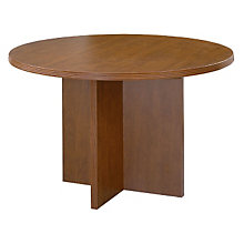 """Contemporary Round Conference Table - 47"""" Diameter, OFF-NAP-23"""