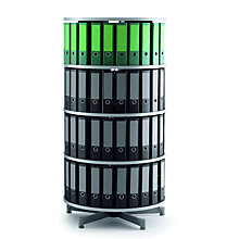 Four Tier Rotating Binder Carousel, OFG-BC0025
