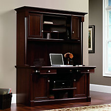 Palladia Laptop Credenza with Hutch, OFG-CH0041