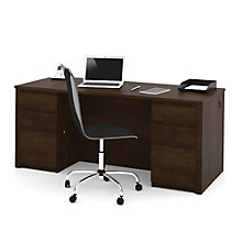 Prestige Plus Double Pedestal Executive Desk, OFG-DS0061