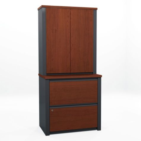 File and storage cabinet in Bordeaux Cherry