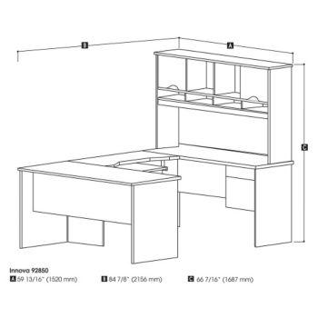 Innova U Desk Executive Office Suite Officefurniture Com