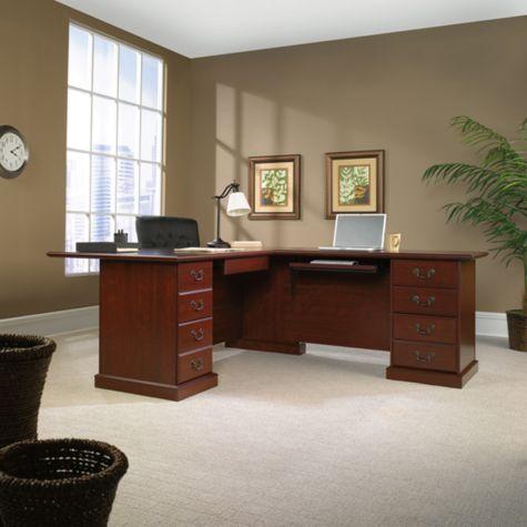 Heritage Hill Reversible L Desk By Sauder