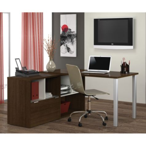 L-Desk shown in a room scene