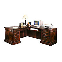 Mount View Traditional Right Return L-Desk, OFG-LD1030