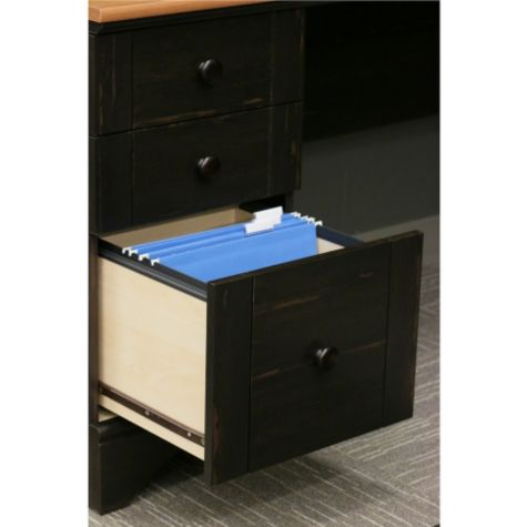 File drawer open