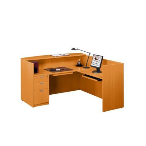 Interior view of desk