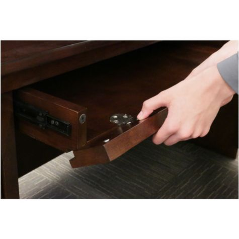 Convert into a drawer or keyboard tray
