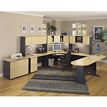 Series A Large U-Desk Workstation with lateral File, BUS-10136