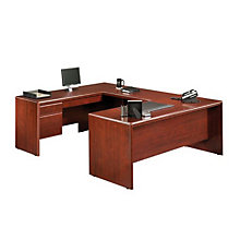 Cornerstone Reversible U-Desk with Laptop Drawer, OFG-UD0029