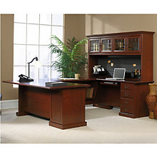 Heritage Hill Executive U-Desk with Hutch, OFG-UD1037
