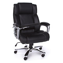 Oro Big and Tall Office Chair with Tablet Arm, OFM-10828