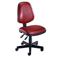 Antimicrobial Vinyl Computer Swivel Desk Chair, OFM-119-VAM