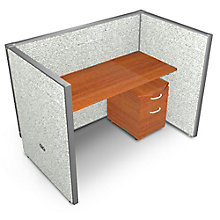 """RiZe Single Vinyl Workstation and Mobile File - 60""""W x 47""""H, 8805296"""