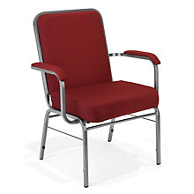 Big & Tall Stack Chair with Arms, OFM-300-XL