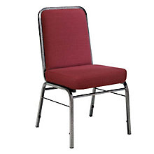 Heavy Duty Fabric Stacking Chair, OFM-300-SV